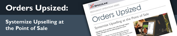 Orders Upsized: Upselling at the point of sale