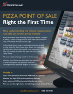 Pizza POS - right the first time.