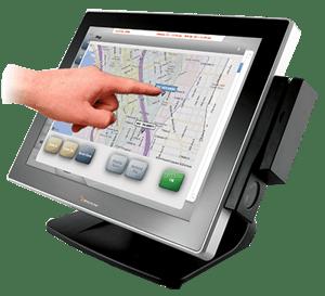 touchscreen dispatching